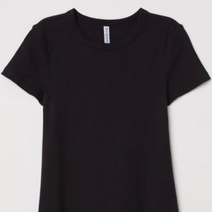 [Divided] Ribbed Mini Dress